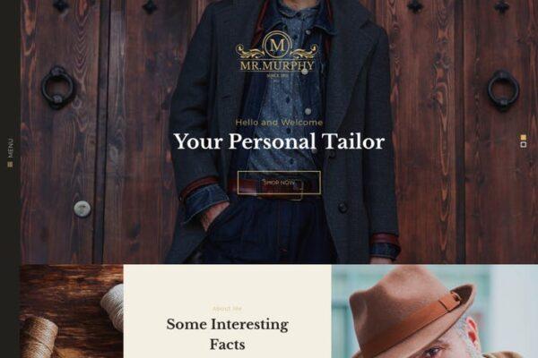 Mr. Murphy - Custom Dress Tailoring Clothing WP 1