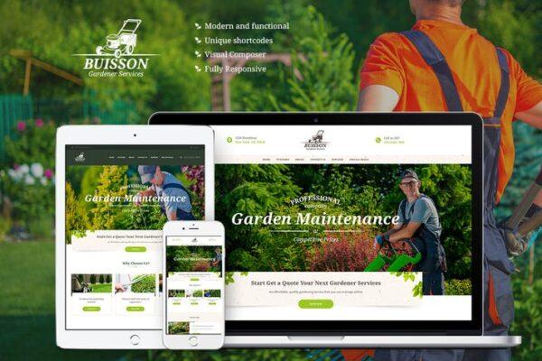 Buisson - Gardening WordPress Theme 1