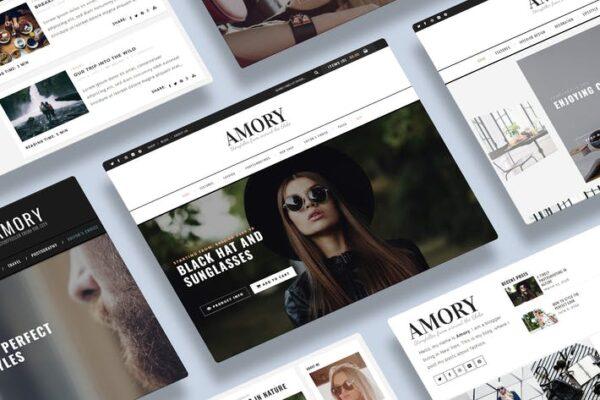 Amory Blog - A Responsive WordPress Blog Theme 1