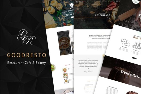 GoodResto - Restaurant WordPress Theme + Woocommer 1