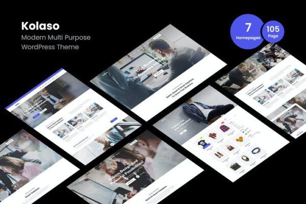 Kolaso - Modern Multi-Purpose WordPress Theme 1