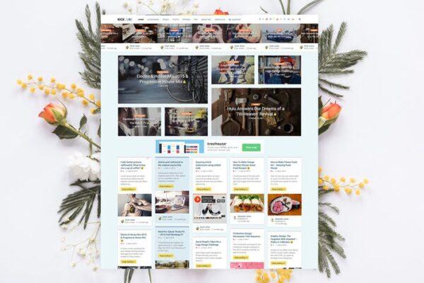KICKCUBE - Membership & User Content Sharing Theme 1