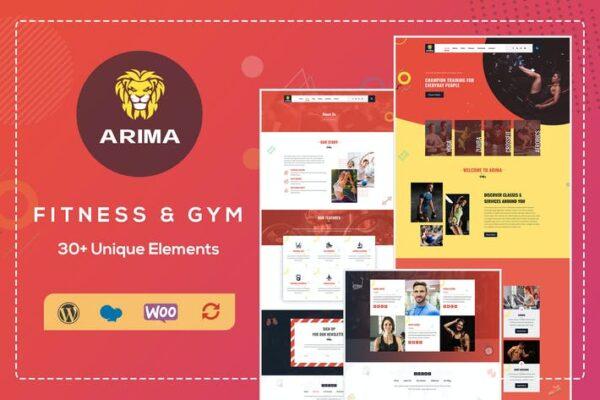 Arima - Crossfit Gym WordPress Theme 1