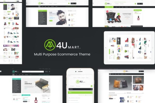 M4U - Multi Store Responsive WordPress Theme 1