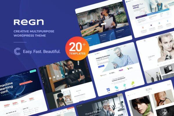 Regn - Multi-Purpose WordPress Theme 1